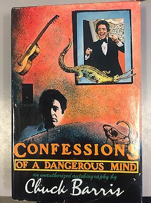Chuck Barris Confessions Of A Dangerous Mind First Edition 1st HC/DJ