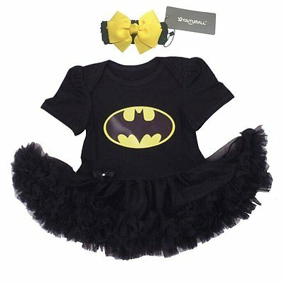 Infant Baby Cool Costume Newborn Girls Party Dress Cosplay S: 0-3 months