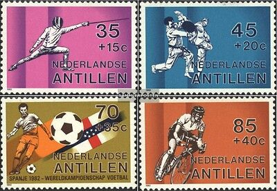 dutch. Antilles 463-466 (complete issue) unmounted mint / never hinged 1982 Spor