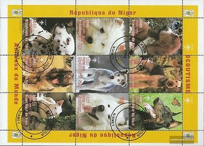 Niger 1377-1385 Sheetlet (complete issue) used 1998 Animals o