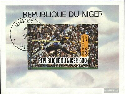 Niger Block27 (complete issue) used 1980 olympic. Summer