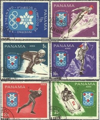 Panama 1046-1051 (complete issue) used 1968 olympic. Winter Gam