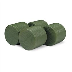 JD TBEK13189 4Pk of Round Hay Bales - Toys & Collectibles