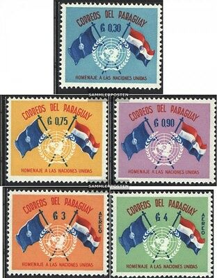 Paraguay 864-868 (complete issue) unmounted mint / never hinged 1960 15 years Un