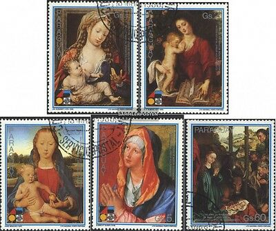 Paraguay 4207-4211 (complete issue) used 1988 christmas 1987