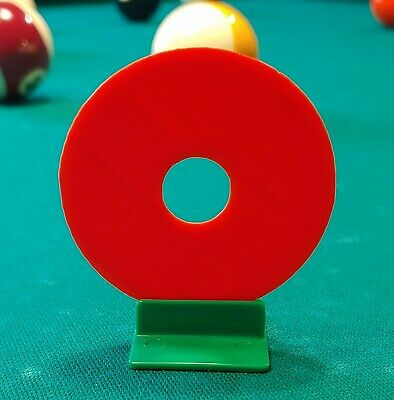 Perfect Your Stroke! Training Aid - Billiard - Pool - Practice Any Shot