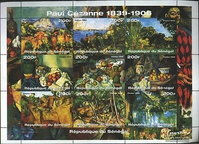 senegal 1898-1906 Sheetlet (complete issue) used 1999 Paintin
