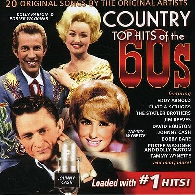 Various Artists - Country Top Hits of the 60's / Various [New CD]
