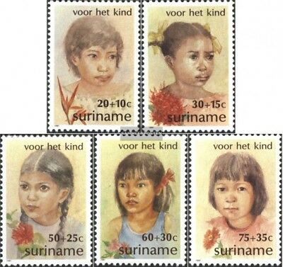 Suriname 962-966 (complete issue) unmounted mint / never hinged 1981 Youth