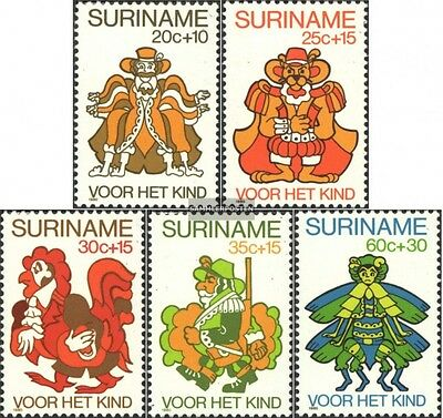 Suriname 918-922 (complete issue) unmounted mint / never hinged 1980 Youth