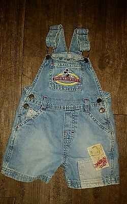 Original Mickey Mouse overalls 18 months Disney