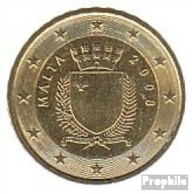 Malta Article: M 4 2008 brillant uncirculated (BU) 2008 10 cent Kursmünze