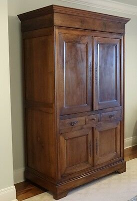 Antique French Walnut Armoire/Wardrobe