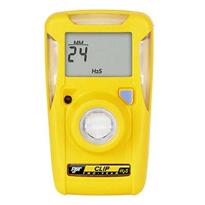 BW Technologies BW Clip H2S Single Gas Monitor Detector BWC2-H515 24 Month