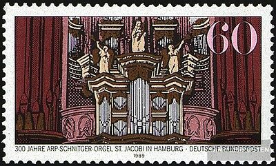 FRD (FR.Germany) 1441 (complete issue) FDC 1989 Arp-Schu.-Organ