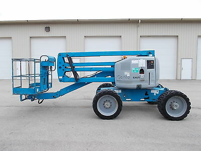 2006 Genie Z-45 4X4 Aerial Manlift Boom Lift Boomlift Deutz Diesel Man Basket