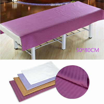 50*80cm Stripe Beauty Sheets Soft Cotton SPA Massage Beauty Bed Table Cover TP