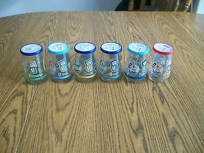Vintage Lot of 6 Welch's Dr Seuss Jelly Jar Glasses welches glass 1996