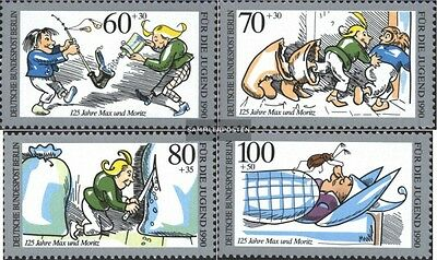 Berlin (West) 868-871 (complete issue) FDC 1990 Youth