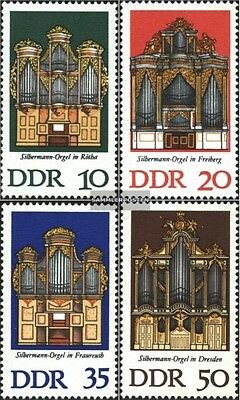 DDR 2111-2114 (complete.issue) unmounted mint / never hinged 1976 Organs