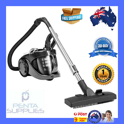 Bagless Cyclone Cyclonic Vacuum Cleaner HEPA Filtration System Black 2800w New