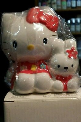 Hello Kitty and friends Ceramic Coin Bank, KT/ S, VINTAGE, NEW!! ^_^