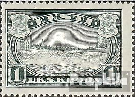 Estonia 159 (complete issue), rubber very irregular (as expended) unmounted mint