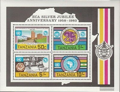 Tanzania Block33 (complete issue) unmounted mint / never hinged 1983 Afrikanis.