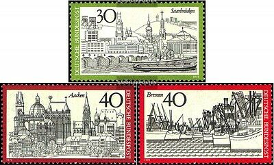 FRD (FR.Germany) 781,786,787-789 (complete issue) used 1973 BRD