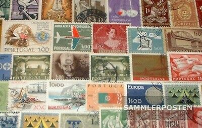 Portugal 100 different stamps