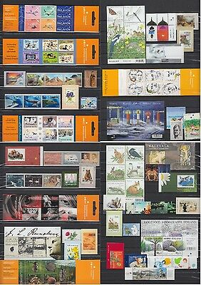 Finnland 2003-2011 Sammlung Collection Frankaturware €558 MNH Postfrisch Luxus