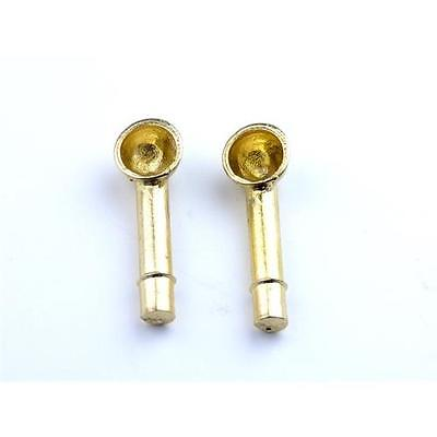 Aero Naut Brass Cowl Vents 5 x 13mm Vents Pack of 2 For Model Boats
