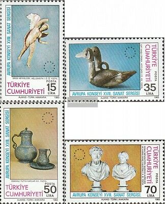 Turkey 2636-2639 (complete issue) unmounted mint / never hinged 1983 Art Exhibit