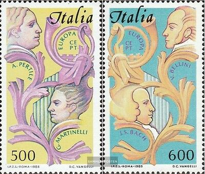 Italy 1932-1933 (complete issue) used 1985 Year the Music