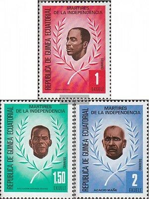 Equatorial-Guinea 1603-1605 (complete issue) unmounted mint / never hinged 1979