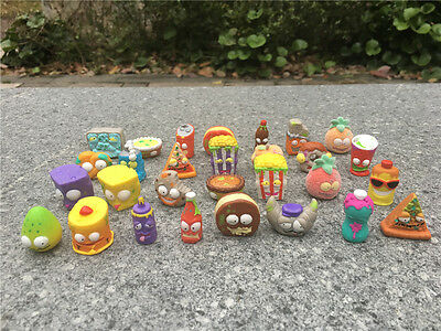 The Grossery Gang 20pcs/Set Mini Toy Figures By Moose Toys Random New Loose