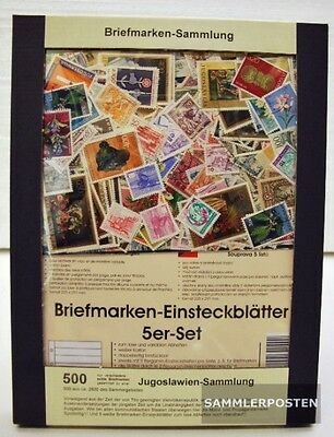 Yugoslavia 500 different stamps