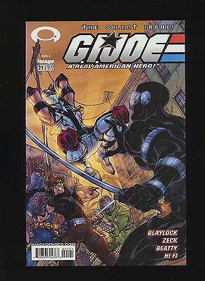 GI Joe #21! Campbell Variant Cover 2003 Image Silent Issue! SEE SCANS AND PICS!