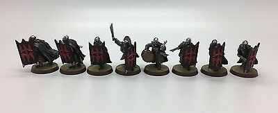 Warhammer Lord Of The Rings Lotr War Of The Ring Black Guard Of Barad-Dur Metal