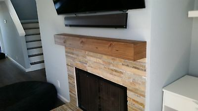 Midwood Designs Rustic Fireplace Shelf Mantel
