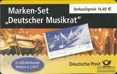 FRD (FR.Germany) MH54 (complete issue) used 2004 music
