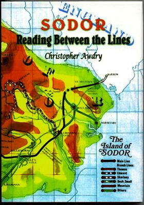 Signed Sodor Reading Between The Lines By Christopher Awdry Brand New First Ed