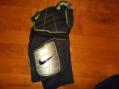 Youth Boys L Nike Pro Combat Padded Compression Hyperstrong Hard Plate Shorts