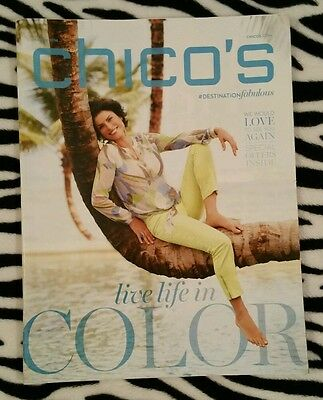 CHICO'S 51-Page Magazine Catalog Brochure Print Advertisement March 2014