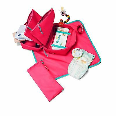 REISENTHEL Babycase Changing Nappy Diaper Carry Lightweight Bag, In 3 Colours !