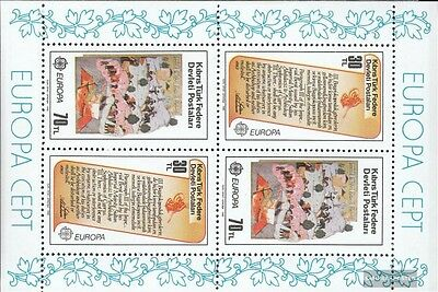 Turkish-Cyprus block3 (complete issue) unmounted mint / never hinged 1982 histor