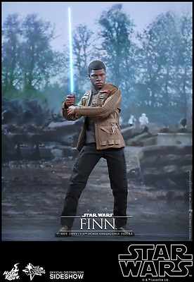 Hot Toys Star Wars Finn / Sixth Scale / The Force Awakens / Neuware