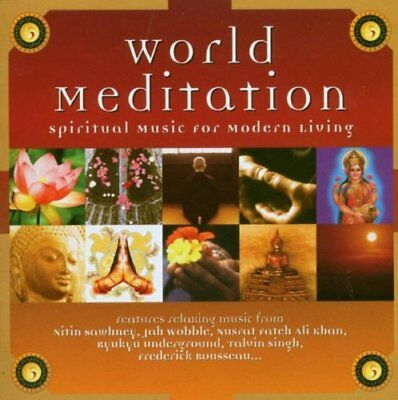 Various Artists - World Meditation - Various Artists CD 72VG The Cheap Fast Free