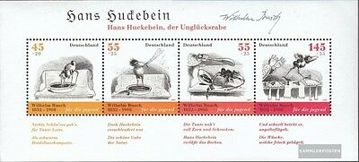 FRD (FR.Germany) block71 (complete issue) first-day stamp used