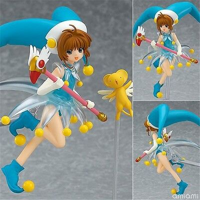 "Anime Card Captor Sakura FigFIX008 Battle Costume Ver. PVC Figure 5"" New No Box"